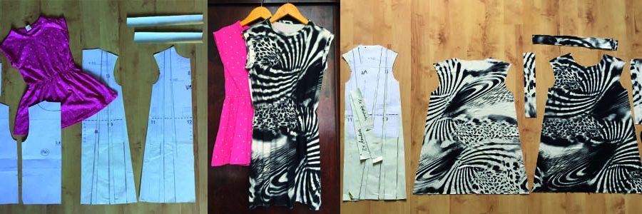 Nähen für Kinder, ein einfaches Kleid für Mädchen nähen
