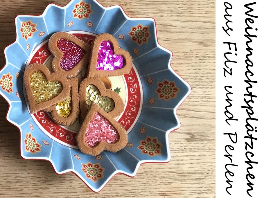 Kuchen und Gebäck für die Kinderküche nähen, Geschenke aus Filz nähen, einfache Projekte zum Nähen für Anfänger, kostenlose Vorlagen Filz Ornament,
