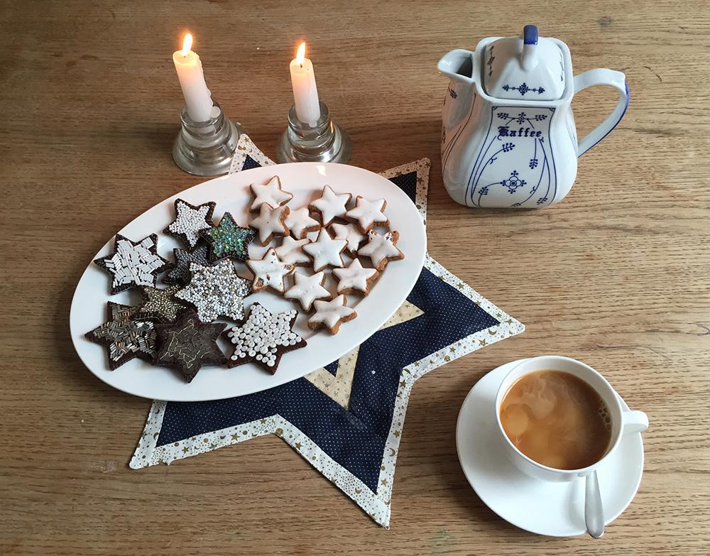 Weihnachtsplätzchen für die Kinderküche selber nähen, Filz Ornament Plätzchen Vorlage, Zimtplätzchen aus Filz nähen, Plätzchen für Weihnachten aus Stoff nähen,