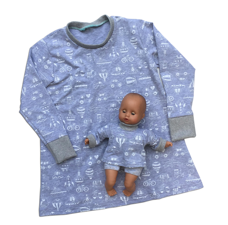 Ein Schnittmuster abwandeln, ein Schnittmuster für ein Kleid, nähen für Anfänger, nähen für Babies, nähen für Kinder, Schnittkonstruktion für Anfänger, Schnittmuster für Kinder, Schnittmuster selber konstruieren