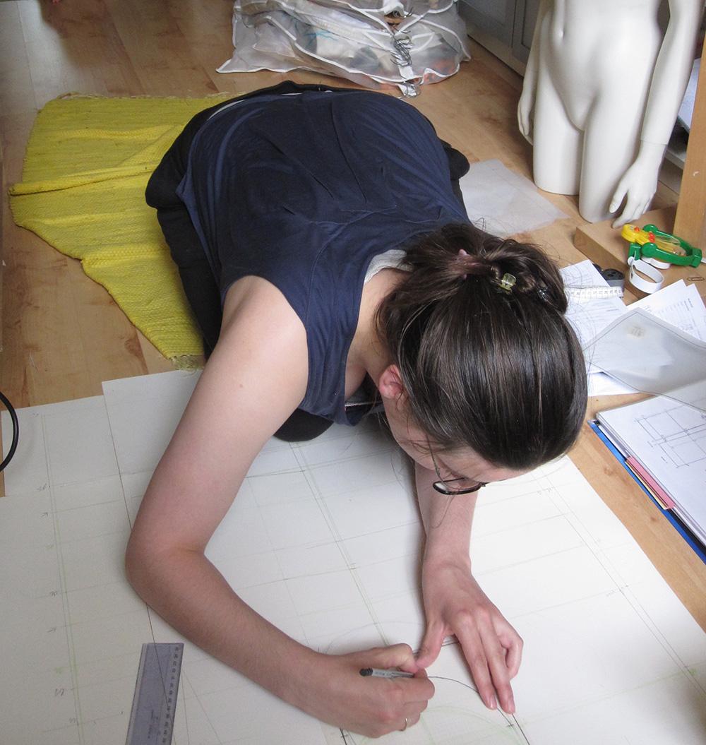 schöne Sachen selbermachen, Schnittkonstruktion einfach erklärt, Verarbeitungstips an einfachen DIY-Projekten erklärt, Nähen mit Kindern